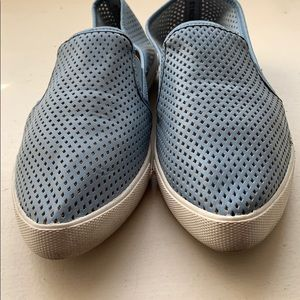 9c6a82c5a51 Steve Madden Shoes - STEVE MADDEN Virggo Mesh Pale Blue Slip on Sneaker
